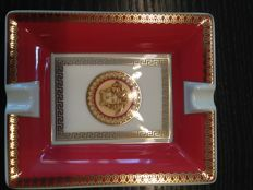 Versace - Rosenthal Ashtray -Asian Dream Series with Medusa Head - New in the Original Box