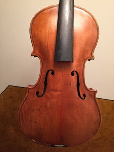 Beautiful probably Bohemian violin