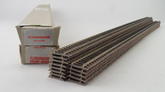 Fleischmann H0 - 6106 - Flexible profi rails, 13 pieces length 800mm