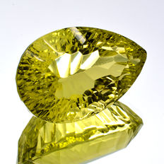 Lemon quartz - 16.94 ct