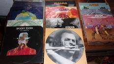 Lot Of 13 Vinyls Lp Of  Ange  Focus   Magma  Spooky Tooth And Yes