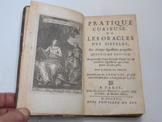Claude Commiers d'Embrun - Pratique Curieuse, ou les Oracles des Sibylles - 2 parts in 1 volume - 1717