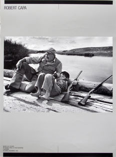 Robert Capa (1913-1954) -  'Ernest Hemingway and his son Gregory', 1941