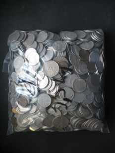 Poland - Lot (+7 kg, and ~3700 coins) - including silver