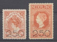 The Netherlands 1920 - Clearance issue - NVPH 104/105, with certificate