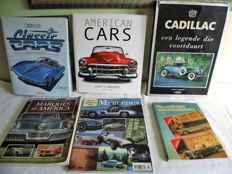 Lot of 6 automobile books - For the collector