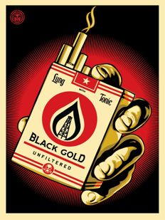Shepard Fairey (OBEY) - Black Gold