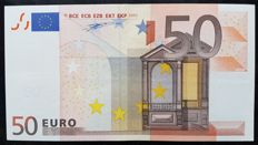 Europen Union - Ireland - 50 Euro 2002 - Duisenberg - without HOLOGRAM - White Box - ERROR note