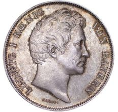 Germany, Bayern - 1 Gulden 1841 Ludwig I