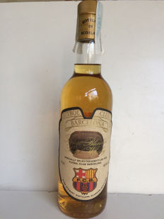 Burn Stewart Football Club Barcelona -Finest Blended Scotch Whisky  70cl  40%
