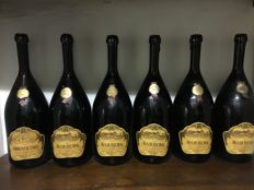 1967 Barbera Poderi Giovanni Scannavino Piedmont italy x 6 Double magnums (3lts)