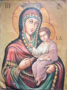 Anonymous (20th century) - Madonna and Child