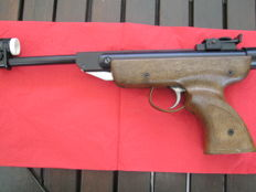 Italian break barrel target pistol .22 cal