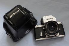 Nikon Ftn with 2/50 mm lens