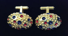 Christian Dior - Vintage cuff links Ca. 70's