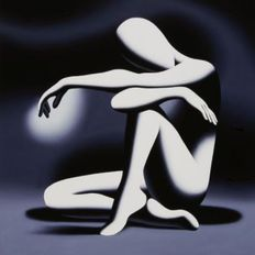 Mark Kostabi - Embracing the hour