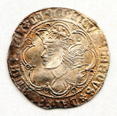 Spain - Enrique IV (The Impotent) 1454-1474 - 1 Silver Real - Seville.
