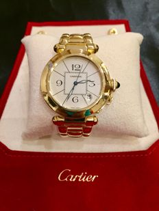 Cartier - Pasha 38 mm - Unisex - 1980-1989