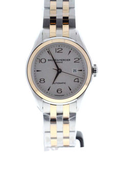Baume & Mercier - Clifton Two Tone Ladies Watch - M0A10152 - Unisex - 2011 – present