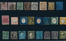 Europe – 1850 – 1860 – batch with some of the better values such as much from Italy, England, Belgium and the Netherlands