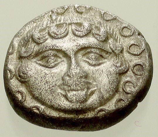 Greek Antiquity - Thrace- Apollonia. AR drachm 400-350 BC (14 mm; 3,32 g.),