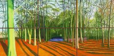 David Hockney - Woldgate Woods