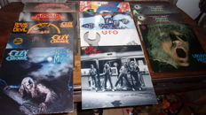 Lot Of 12 Lp Vinyls Of  Krokus   Ozzy Ozbourne Ufo And Uriah Heep