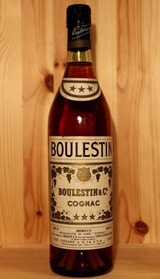 Boulestin & Co. Cognac, early 1970s, 73cl, 40%vol