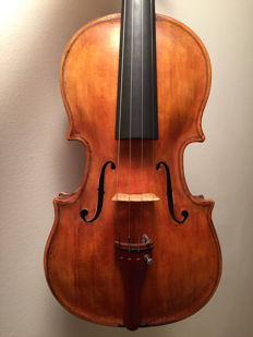 Old interesting violin 4/4