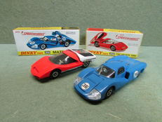 Dinky Toys - Scale 1/43 - Fiat Abarth 2000 No.202 and Matra 630 No.200