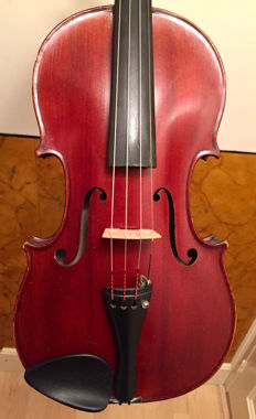 Fine French violin labelled Claude Victor Rambaux