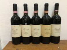 1995 Prunotto Bussia, Barolo DOCG, Italy x 5 bottles
