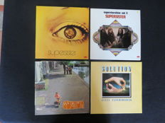 Four Dutch Prog Rock/Fusion/Jazz Rock-albums by Supersister an Solution (1971/1977)