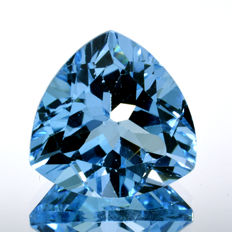 Sky blue topaz - 7.69 ct - No Reserve Price