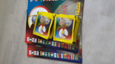 Panini - World Cup 2002 Korea/Japan - 50 original packets + 2 original matching empty albums