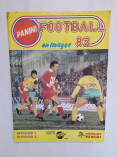 Panini - Football 1982 - Division France 1 & 2 - Empty album
