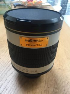 Walimex pro mirror lens 500mm f6.3 T-mount