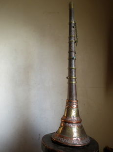 Ragdong - Tibetan Buddhist trumpet - Tibet - second half of the 20th century