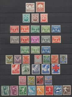 The Netherlands 1924/1928 - Selection between NVPH 139 and 219