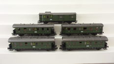 Roco H0 - 4062S - Set of 5 Blunderbusses of the DRG