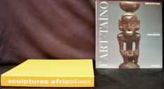 "Books ""Sculptures Africaines "" of Fagg William - 1965 - French ; & ""L'art Taïto"" of Jacques Kerchache - 1994 -  French"