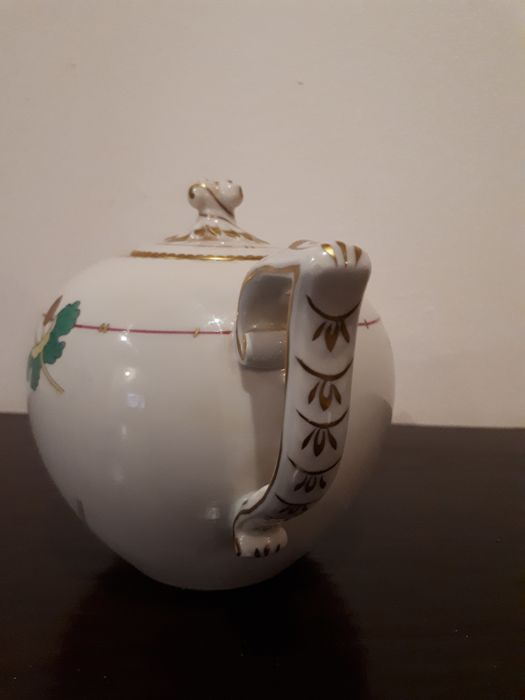Herend Hungary Hand Painted Teapot
