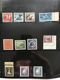 Liechtenstein 1917/1960 – Collection in inserts