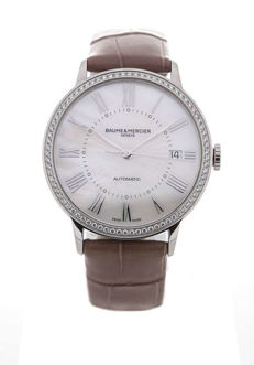 Baume & Mercier - Classima Mother of Pearl 37 - M0A 10222 - Unisex - 2011 – present