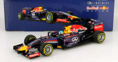 Minichamps - Scale 1/18 - Infinity Red Bull Racing RB10 S. Vettel 2014