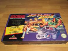 "Snes Console Set ""Street Fighter II Turbo Pack"" Fully Complete and Boxed"