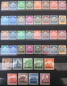 Luxembourg 1930/2000 - Set with stamps and blocks