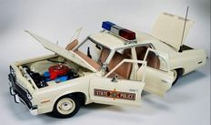 Autoworld-Ertl - Scale 1/18 - Dodge Monaco Illinois State Police 1974