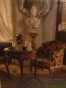Edith Vaucamp - (20th century) - Interieur