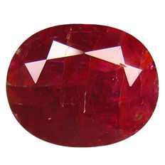 Ruby 2.04 Carat - No reserve price